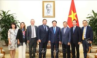 越南政府副总理王庭惠会见英国首相贸易特使艾德·维济