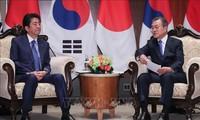 日本希望改善与韩国的双边关系