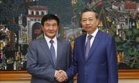 推动越南和蒙古的合作