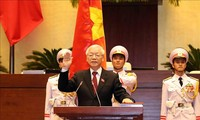 各国领导人致电祝贺阮富仲总书记当选国家主席