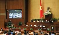 越南国会质询和回答质询会议开始举行