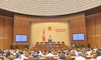 越南国会质询和回答质询会议继续举行
