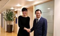 推动越南与挪威多领域合作关系