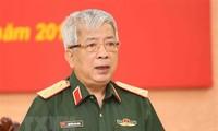 越南国防部领导人会见中国驻越大使熊波