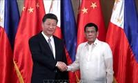 中国和菲律宾同意建立中菲全面战略合作关系