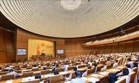 越南国会颁布有关调整2016至2020年阶段中期公共投资计划的决议