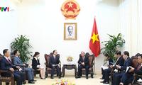 推动越韩战略合作伙伴关系发展