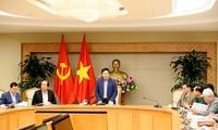 越南政府副总理兼外长范平明主持第二次美朝首脑会晤准备工作会议