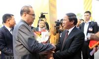 朝鲜劳动党高级领导人代表团访问海防市