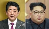 日本首相安倍愿与朝鲜领导人举行会晤 解决绑架问题