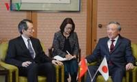 越南最高人民法院院长阮和平对日本进行工作访问
