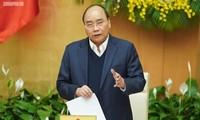 阮春福主持政府立法专题会议
