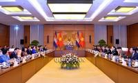 柬埔寨国会代表团对越南进行正式访问