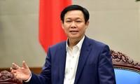 越南政府副总理王庭惠会见国际货币基金组织代表团