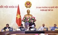 越南国会常委会第33次会议闭幕