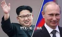 韩国统一部长官金炼铁会见俄罗斯驻韩大使库里克