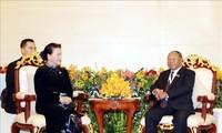 柬埔寨国会主席韩桑林对越南进行正式访问
