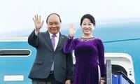 阮春福圆满结束对俄罗斯、挪威、瑞典的正式访问