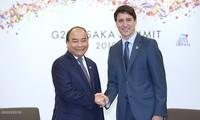 G20峰会:阮春福会见一些国家领导人