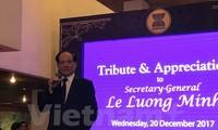 Le Luong Minh sur le point d'achever son mandat de secrétaire général de l'ASEAN