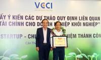 Prix du concours d'aide à la création d'entreprise du delta du Mékong
