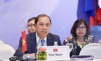 Conférence de hauts officiels de l'ASEAN à Singapour