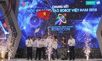 Concours national de Robocon 2018: L'université Lac Hông championne