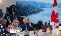 Sommet du G7: Nguyên Xuân Phuc propose un mécanisme de coopération internationale