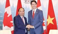 Le Premier ministre achève son voyage au Canada