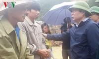 Crues: le vice-président de l'Assemblée nationale Phung Quôc Hiên se rend à Lai Châu