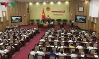 Session de questions-réponses au conseil populaire de Hanoi