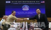 Séoul et Washington maintiendront leurs sanctions contre Pyongyang
