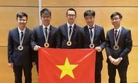 Deux médailles d'or pour le Vietnam aux Olympiades internationales de physique