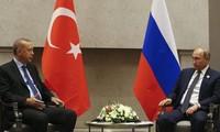 Les présidents turc et russe satisfaits des relations économiques bilatérales