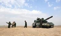 """Syrie : la défense anti-aérienne tire vers une """"cible ennemie"""""""