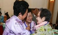 Corée: des familles séparées au mont Kumgang