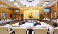 Clôture de la 10e session plénière de la Commission judiciaire de l'Assemblée nationale