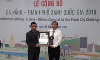 Danang, la ville verte nationale du Vietnam en 2018