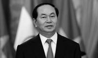 Décès de Trân Dai Quang: condoléances des dirigeants du monde