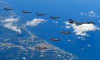 Les Etats-Unis et la République de Corée suspendent leurs exercices aériens conjoints