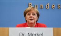 Angela Merkel pour le maintien des sanctions contre Moscou