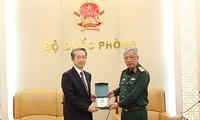 L'ambassadeur de Chine se rend au siège du ministère de la Défense