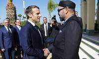 Maroc: Emmanuel Macron et le roi Mohammed VI inaugurent la nouvelle ligne à grande vitesse