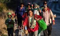 Plus de 1 500 migrants de la « caravane » sont arrivés à la frontière avec les Etats-Unis