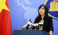 Le Vietnam s'oppose aux exercices de tir réel de Taïwan sur l'île de Ba Binh