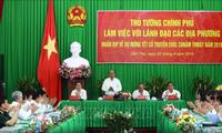Nguyên Xuân Phuc travaille avec les provinces du delta du Mékong