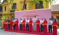 Inauguration d'une salle d'exposition sur le Président Hô Chi Minh au Palais présidentiel