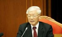 Clôture du 10e plénum du comité central du Parti communiste vietnamien