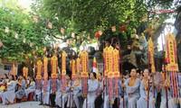 L'anniversaire de Bouddha fête à Hô Chi Minh-ville