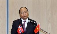 Nguyên Xuân Phuc au forum d'affaires Vietnam-Norvège